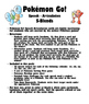 Pokemon Go Speech Articulation S-Blends