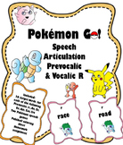 Pokemon Go Speech Articulation Vocalic R and Prevocalic R