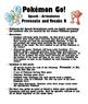 Pokemon Go Speech Articulation Vocalic R and Prevocalic R