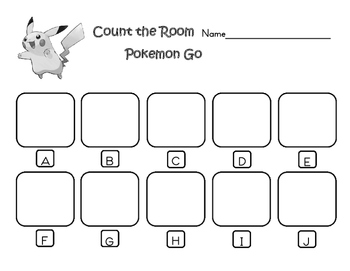 Count the Room with Pokemon