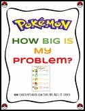 Pokemon How Big is My Problem - Classroom Poster, Handout, Zones companion