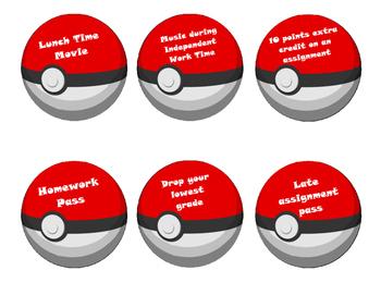 Pokemon Incentive Balls