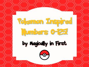 Pokemon Go ~ Inspired Numbers 0-125