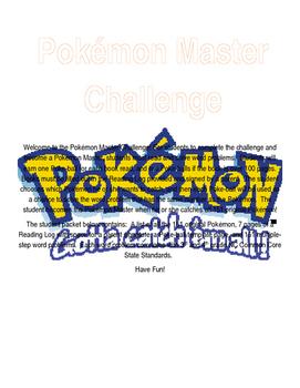 Pokemon Master Challenge Word Problem Set