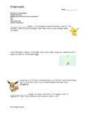 Pokemon Math Problem Solving