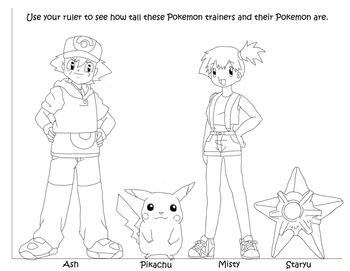 Pokemon Measuring