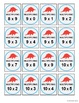 Pokemon Go Multiplication & Division Bingo Game (2 math skills in one game)