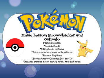 Pokemon Music Lesson: Boomwhacker and Ostinato