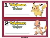 Pokemon Name Tags