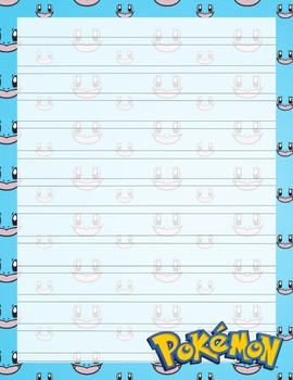 Pokemon Notebook Copywork Pages HWOT Style