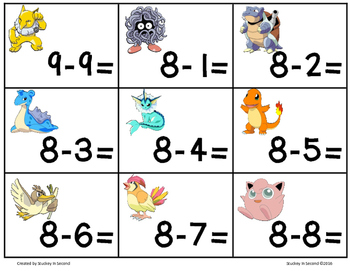 Number Fact Fluency Game