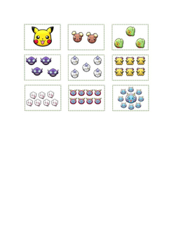 Pokemon Number Match Free
