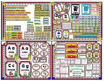 Pokemon POKÉMON Classroom Decor BUNDLE English and Spanish