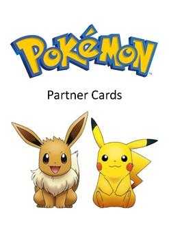 Pokemon Partner Cards