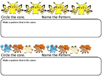 Pokemon Patterns
