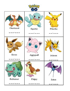 Pokemon Place Value: Recognizing a Digit's Place & Value in a Number