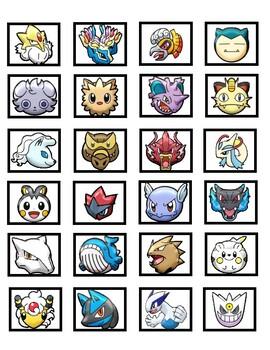 Pokemon Pokedex Token Board