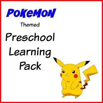 Pokemon Preschool Learning Pack