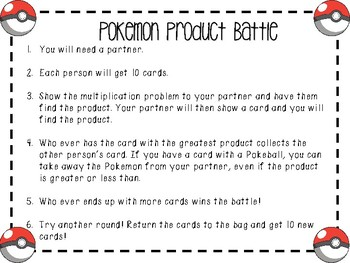 Pokemon Product Battle