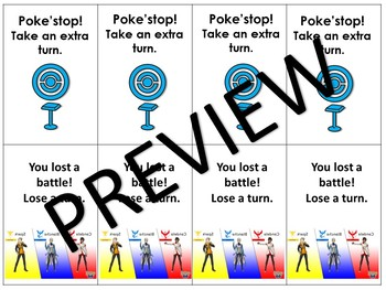Pokemon Read It, Keep It! Mixed CVC words
