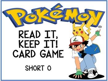 Pokemon Read It, Keep It! Short O