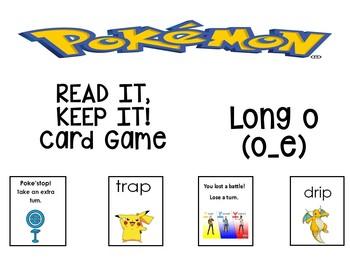 Pokemon Read it, Keep it Long o (o_e)