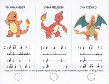 Pokemon Rhythm Challenge 1