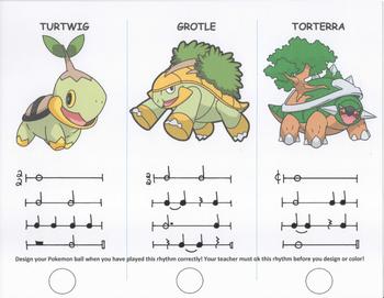 Pokemon Rhythm Challenge 2