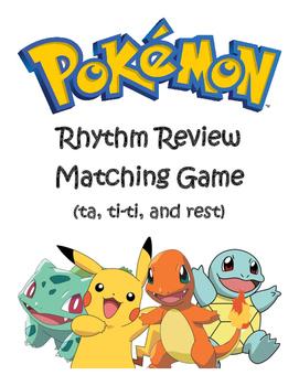 Pokemon Rhythm Review Activity