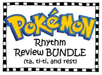 Pokemon Rhythm Review BUNDLE