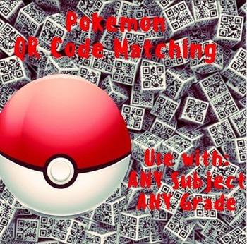 QR Code BUNDLE Pokemon Self Check