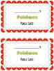 Pokemon Theme Punch Cards- Behavior Management