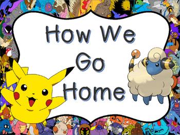Pokemon Themed How We Go Home Banner