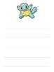 Pokemon Themed Writing Paper