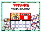 Pokemon Token Boards