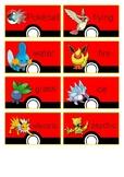 Pokemon Word Wall