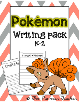 Pokemon Writing Pack K-2