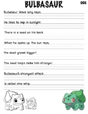 Pokemon Writing Practice_Bulbasaur
