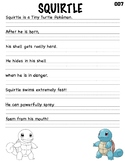 Pokemon Writing Practice_Squirtle
