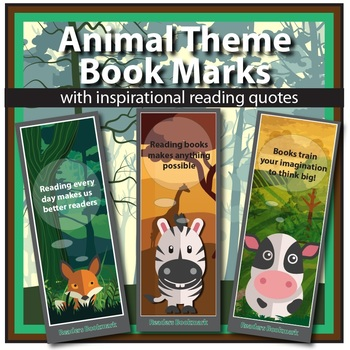 Bookmarks (free) - check out my other products!