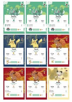 Pokemon card game - Deck 1