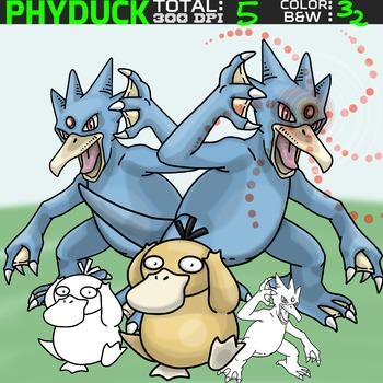 Pokemon clipart - Phyduck