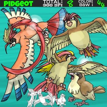 Pokemon clipart - Pidgeot