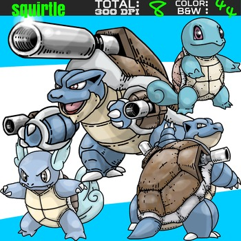 Pokemon clipart - Squirtle