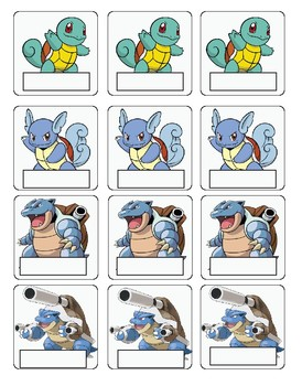 Pokemon name tags for evolution in reading