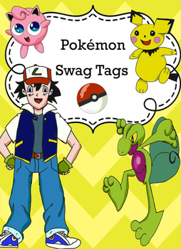 Pokemon style swag tags awards