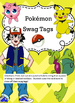 Pokemon style swag tags awards