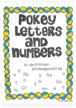 Pokey Letters and Numbers
