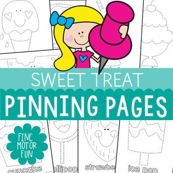 Pokey Pin Activities: Sweet Treat Theme