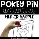 Pokey Pin Free Martin Luther King Activities